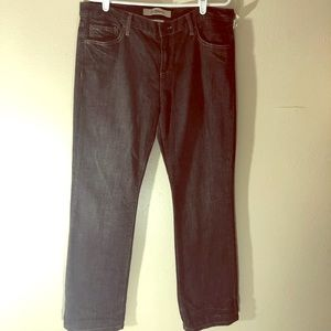 GAP NWT Black Straight Lee Jeans Sz. 12
